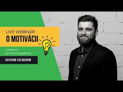 O motivácii s Davidom Kálmánom