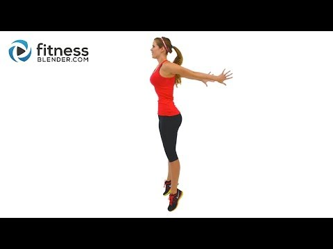 Fat Burning HIIT Cardio Workout – High Intensity Interval Training with Warm Up & Cool Down