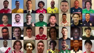 See you in Russia! 32 FIFA WORLD CUP STARS [EXCLUSIVE]