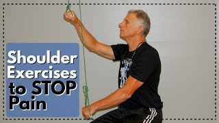 4 EASIEST Shoulder Exercises To STOP Pain At Home: Frozen Shoulder, Impingement, & Arthritis