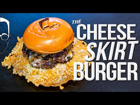 THE ULTIMATE CHEESY SMASHED BURGER | SAM THE COOKING GUY 4K
