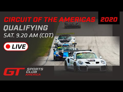 2020年 ブランパンGTワールドチャレンジ・アメリカ(COTA)GT SPORTS CLUB 予選ライブ配信動画