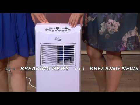 Sichler mobile Monoblock-Klimaanlage 7000 BTU/h,880 W ohne Heizelement