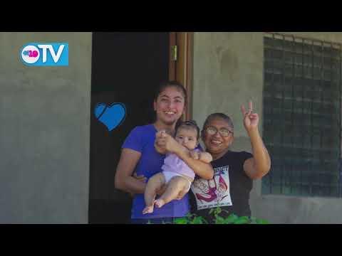 Programa casas para el pueblo sigue beneficiando a miles de nicaragüenses
