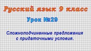Русский язык 9 класс Урок 29