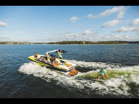 All-New Tige RZX20 – 20 foot Wakesurf, Wakeboard, and Ski boat