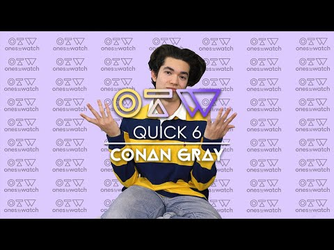 Conan Gray Describes Himself With Vines and Shares His Crazy College Story | Quick 6