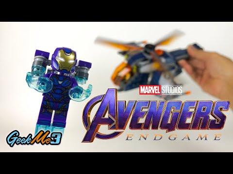 Vidéo LEGO Marvel 76144 : L'hélicoptère des Avengers