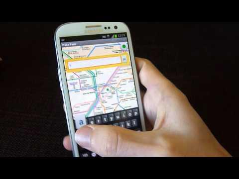 Video of Paris subway & guide