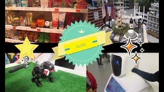 VLOG/ Чёрная пятница. Город роботов.IKEA новинки.  Покупки.