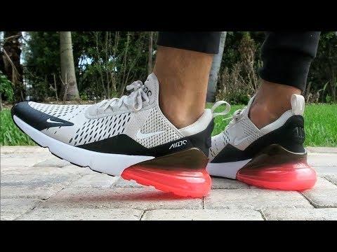 "meet 6f812 1be91 Nike Air Max 270 ""Light Bone Hot Punch"" ON FEET - YoAnty"