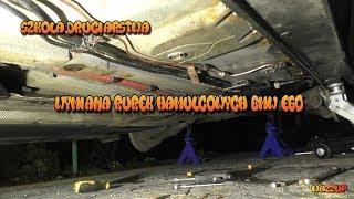Szkoła Druciarstwa Wymiana Rurek Hamulcowych Bmw e60 Wazzup :)