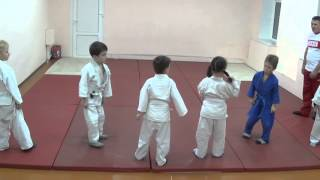 1.11.15 Открытый урок по дзюдо: акробатика. Дети 5 - 6 лет. Centre Judo Kids. Feodosiya
