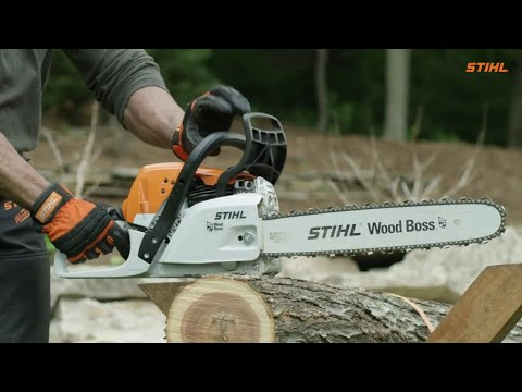 Stihl MS 251 Wood Boss in Jesup, Georgia - Video 1