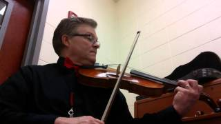 The Friendly Beasts  violin/viola part from the Christmas Kaleidoscope Bk 2 Frost