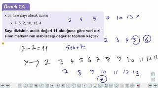 Eğitim Vadisi TYT Matematik 29.Föy Merkezi Eğilim Ölçüleri Grafik Türleri Konu Anlatım Videoları