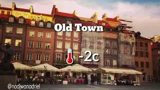 One day in Warsaw, Poland 🇵🇱 #myeuropewinterjourney2018