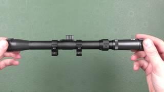 Оптический прицел Tasco 3-7X20 от компании CO2 - магазин оружия без разрешения - видео
