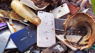 Restoration destroyed abandoned phone Huawei | full restore video | New Restoration Huawei