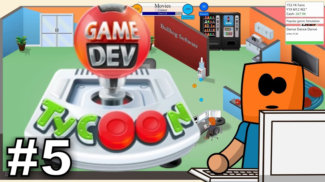 Game Dev Tycoon #5 | Research and development Lab