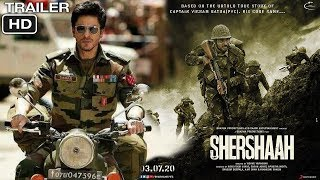 Shershaah Movie Trailer | Shahrukh Khan , Sidharth Malhotra, Kiara | Shershaah Movie