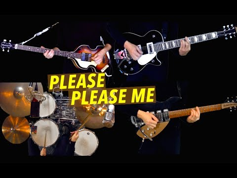 Please Please Me - Instrumental Cover - Guitars, Bass, Drums and Harmonica