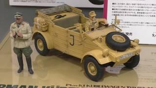 Pkw.K1キューベルワーゲン82型アフリカ仕様/ロンメル元帥付き1/16GERMANKÜBELWAGENTYPE82AFRICA-CORPS