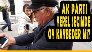 AK Parti Yerel Seçimde Oy Kaybeder Mi?