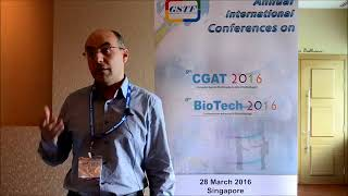 Mr. Munir Salman at CGAT Conference 2016 by GSTF Singapore