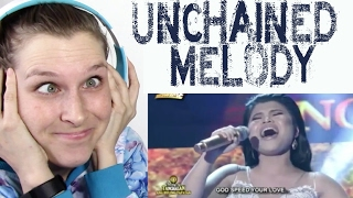 PAULINE AGUPITAN   UNCHAINED MELODY | REACTION
