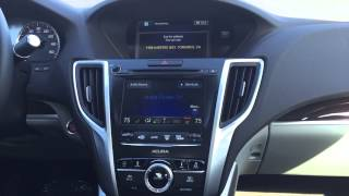Acura Voice Command Navigation Tutorial