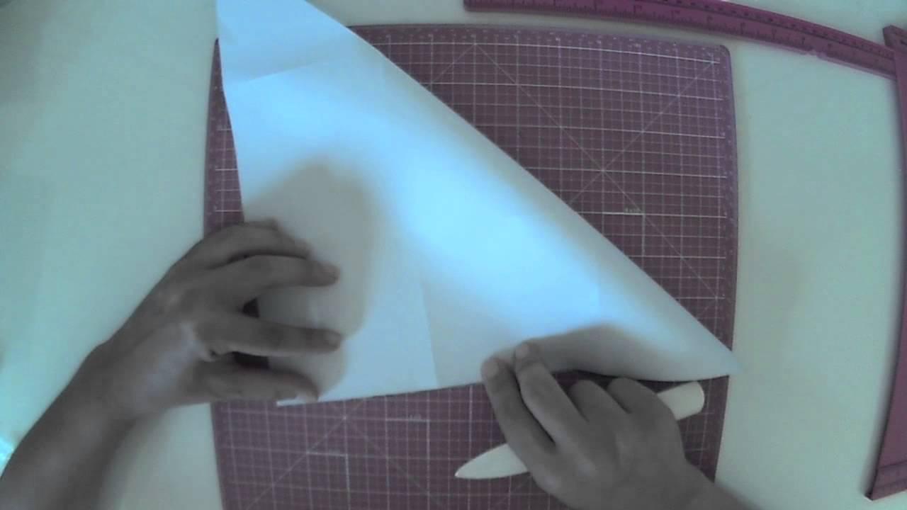 Cómo hacer una cesta de papel. Tutorial