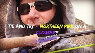 Fly fishing for pike on the Rio Grande in New Mexico