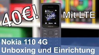 Nokia 110 4G – Unboxing und Einrichtung
