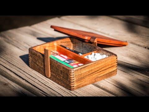 Cómo hacer una cajita para el tabaco