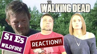 The Walking Dead | S1 E5 'Wildfire' | Reaction | Review