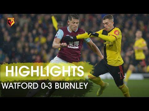 FC Watford 0-3 FC Burnley