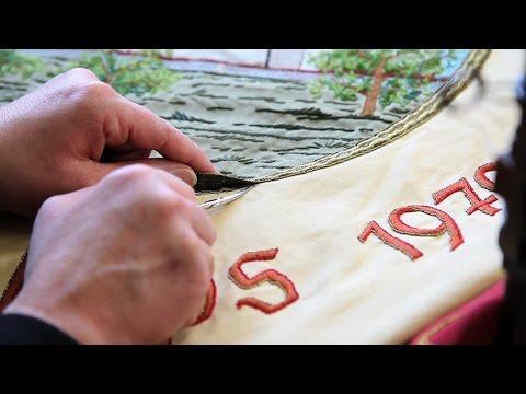 Fahnen Eibl Kunststickerei – Restaurierung von Vereinsfahnen