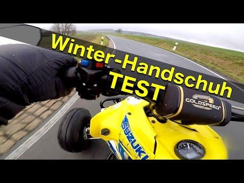 Winter-Handschuh Test / Es ist rutschig / Quad-Vlog ToxiQtime