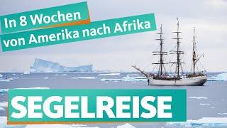 Mit dem Dreimaster durch die Antarktis – WDR Reisen