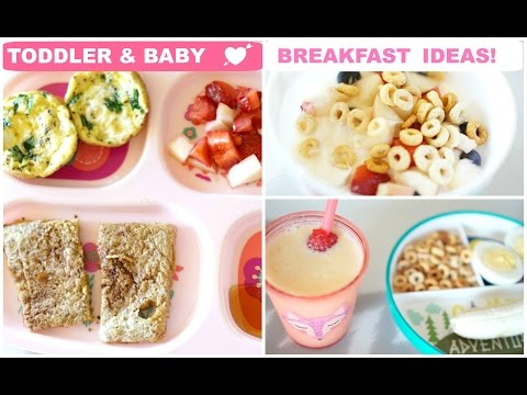 Video Breakfast Ideas for Toddler & Baby!