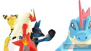 Pokemon MMD Compilation 1