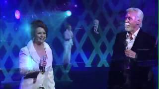 """We've Got Tonight "" - Kenny Rogers & Sheena Easton (The First 50 Years concert 2010)"