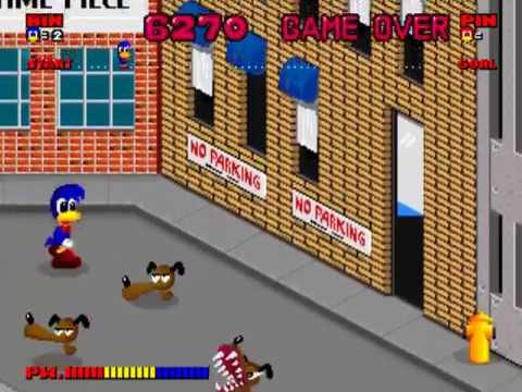 Dynamite Dux - Arcade