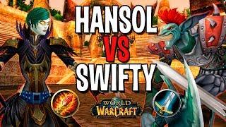 HANSOL VS SWIFTY   МАГ VS ВАР В WOW
