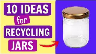 10 DIY WITH JARS EASY