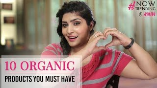 Top 10 Herbal Products Ft. Shreya Jain | Natural Skincare & Makeup | Nykaa