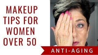 Anti Aging Makeup Tips for Mature Women/Over 50