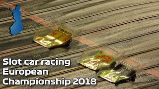 Slot car racing European Championship 2018 [4K]