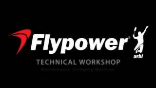 Flypower  Technical Workshop Stringing Machine